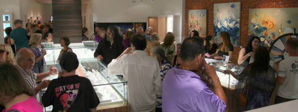 Art Opening at Fox Fine Jewelry