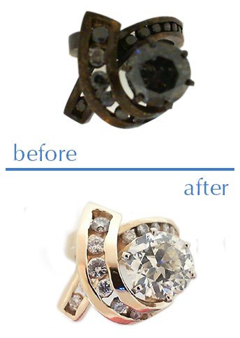 Fire Damaged Jewelry Restoration