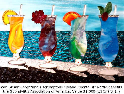 Susan-Lorenzana-Island-Cocktails-glass-art-at-Fox-Fine-Jewelry