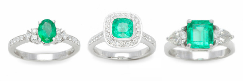 Emerald-rings-with-diamonds